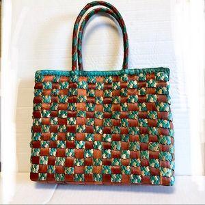 Vintage Hand Woven Bag